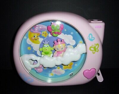 Fisher Price Dreamland Perfectly Pink Baby Crib Toy Soother Lights Sounds Music
