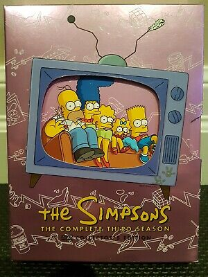 The Simpsons - The Complete Third Season - Collectors Ed (DVD, 2009, 4-Disc Set)