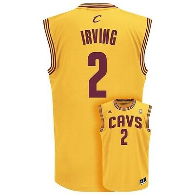 ($70) Cleveland Cavaliers Cavs KYRIE IRVING nba Jersey Adult MENS/MEN'S (L-LARGE
