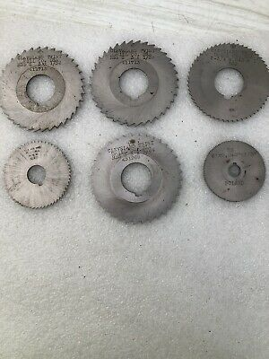 Vintage CLEVELAND TWIST DRILL SLITTING SAW BLADE Lot