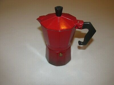 Aluminum Moka Espresso Maker * 3 Cup * Red * FREE SHIPPING!!