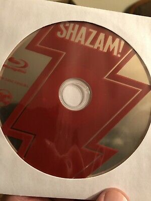 Shazam! (Blu-ray)Disc ONLY! Nothing Else!!! Read.