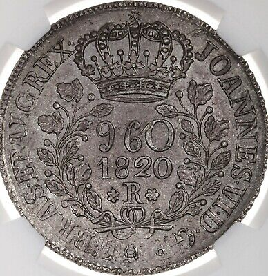 1820R Brazil 960R NGC Certified MS62