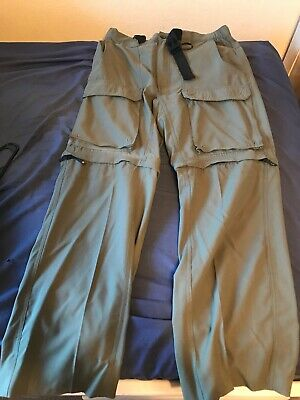Boy Scouts of America CLASSIC SMALL Convertible Switchback Uniform Pants Green