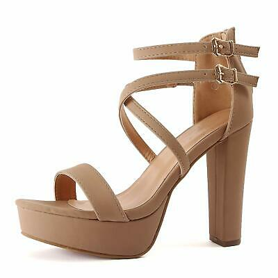 cd9c7bf8ded GUILTY SHOES - Womens Cutout Gladiator Ankle Strap Platform Fashion ...