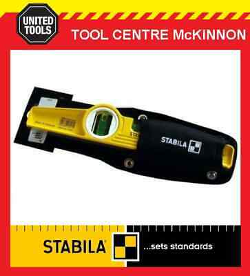 "STABILA TYPE 81 S 25cm / 10"" TORPEDO SPIRIT LEVEL WITH POUCH"