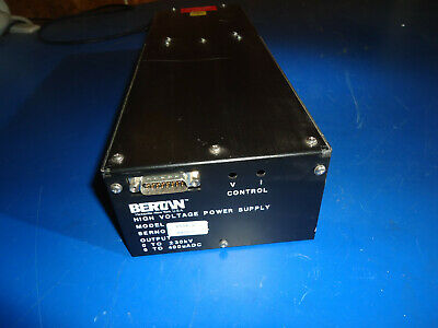 Bertan 2554-2 High Voltage Power Supply Pulled From Working Environment