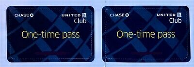 TWO (2) United Club One-Time Passes - EXPIRES JUNE 4, 2020- Electronic Delivery