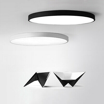 LED Ceiling Lights Dimmable Flush Mount Lamps SMD 2835 50mm Thin 12W-48W 85-265V