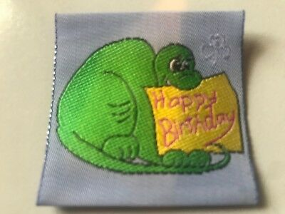 Girl Guides / Scouts Happy Birthday Dinosaur