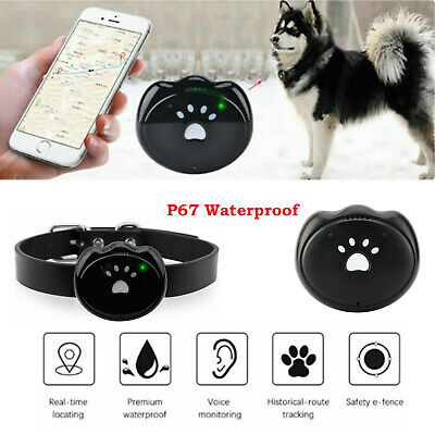Waterproof Pet Collar GPS GSM GPRS Tracker Monitor Real time Locator for Dog Cat