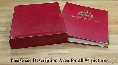 NETHERLANDS Antilles/Curacao Mint/Used, Sets, etc. in Importa Boxed Album.