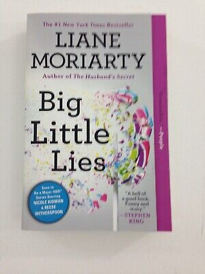 Big Little Lies - Liane Moriarty (2015, Paperback) Reader's Guide Inside