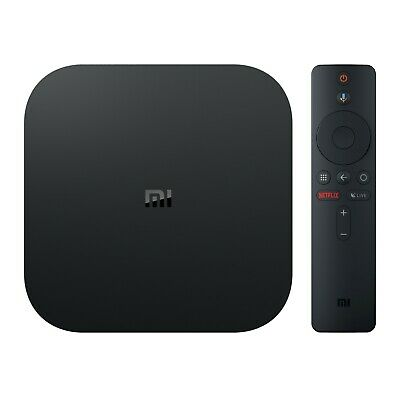 Xiami Mi Box HDR Android TV Google Assistant Remote Streaming Media Player 4K