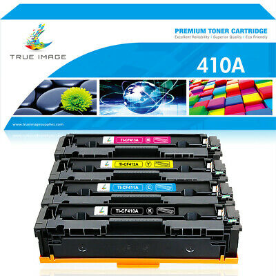 4 Pack Toner Cartridge for HP CF410A 410A Color Laserjet Pro Mfp M477fnw M477fdw