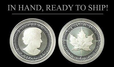 2019 Silver $5 Canadian Maple Leaf - Pride of Two Nations Limited Edition Set