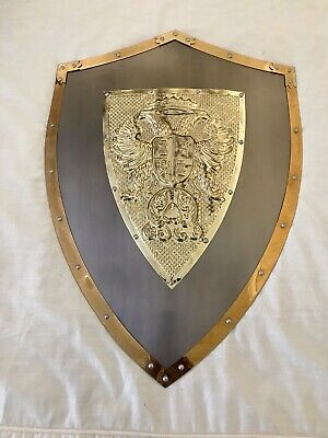 Medieval Style Shield Metal