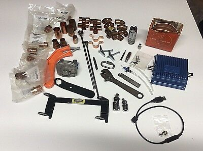 Junk drawer lot-Plumbing, tools, photography, cellular amp-blue point