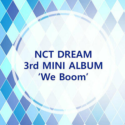(PreOrder) NCT DREAM - [ We Boom ] 3rd Mini Album (Choose Version)*FreeCustomize
