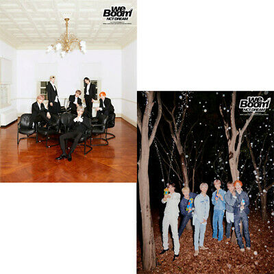NCT DREAM WE BOOM 3rd Mini Album 2 Ver SET 2CD+POSTER+2 P.Book+6Card+GIFT SEALED