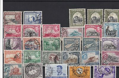cyprus used stamps ref r12392