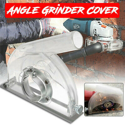 """Clear Cutting Dust Shroud Grinding Cover For Angle Grinder & 3""""/4""""/5"""" Saw Blades"""