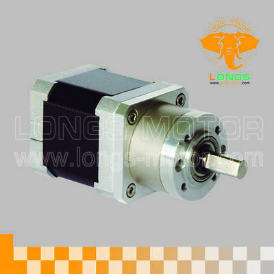 1PC Planetary Gearbox Stepper Motor Nema17 1.8°, 1:5.18, 4wires 17HS3410-AG5.18