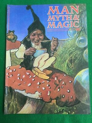 Man Myth and Magic magazine Occult Supernatural No.26