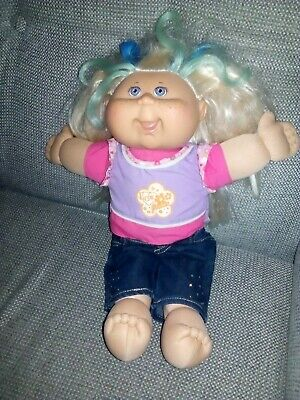 Gorgeous Cabbage Patch Doll Girl Blonde and Blue Hair