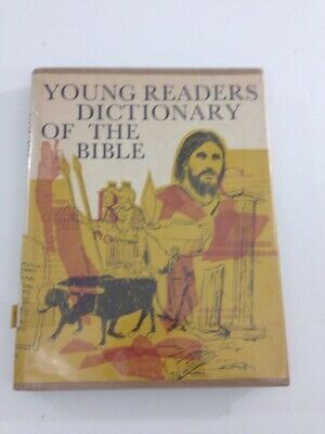 Young Reader's Dictionary Of The Bible - Abingdon (Hardcover, 1969, Dust Jacket)