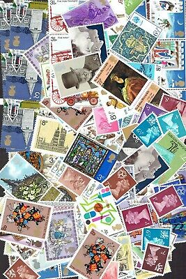 GB Stamps for postage £10 Face Value (1p - 9p range), Full Gum, Never Used.