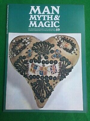 Man Myth and Magic magazine Occult Supernatural No.59