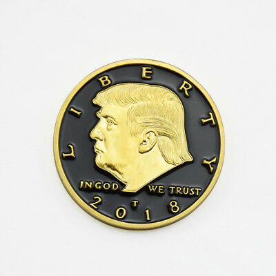 US 45th President Donald Trump Commemorative Coin Collection Gift Souvenir Coins