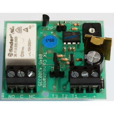 PT1*60 - 60 s - 60 M Precision Timer Relay Alarm Module For Security Systems TK