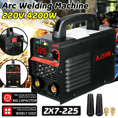 225AMP 220V Welding Inverter Machine MMA/ARC Houshold Portable Welder IGBT 4200W