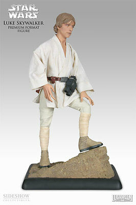Sideshow Premium Star Wars Luke Skywalker Tatooine 1/4 scale, 2008 Sold out  NEW
