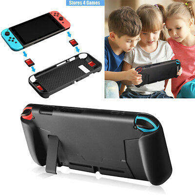 Protective TPU Case For Nintendo Switch Grip Cover Shockproof Absorpti Gift