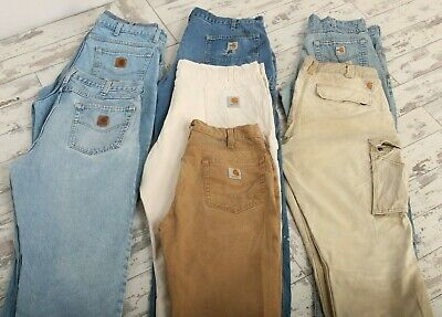 Wholesale Vintage Clothing Carhartt Dickies Jeans | Trousers GRADE B Mix Job Lot