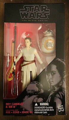 New Star Wars The Black Series The Force Awakens Rey (Jakku) & Bb8 Figure B3836