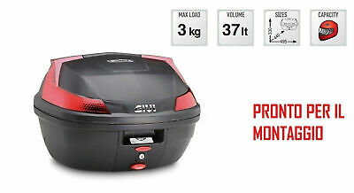 B37N Baule Posteriore 37L Attacchi Yamaha Xenter 125 - 150 2012-2018