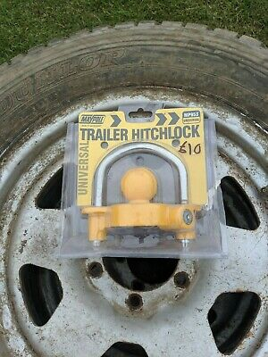 Maypole Universal Trailer Hitch Lock Security Device Mp953