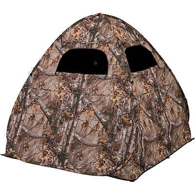 Ground Hunting Blind Portable Pop Up Camo Weather Proof Hunter Tent Deer Hunt