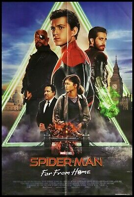 SPIDERMAN FAR FROM HOME Manifesto Film 2F Poster Originale Cinema MARVEL