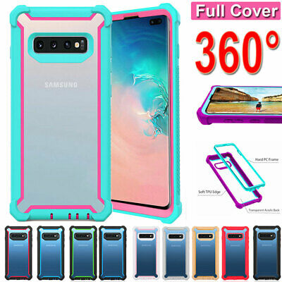 Rugged Rubber Shockproof Armor Case Cover for Samsung Galaxy S8 S9 S10Plus/Note9