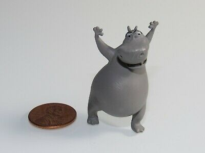 Gloria The Hippo From Madagascar Tiny Miniature Toy From Animated Movie