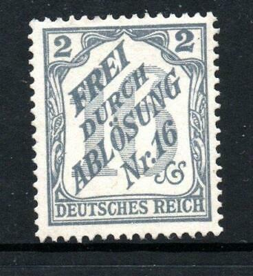 Germany Official 1905 2pf unmounted mint Sg O90 cat £85
