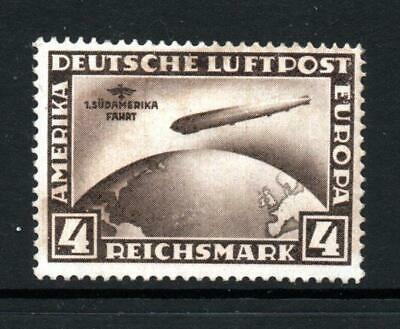 Germany  1930 Air Graf Zeppelin 4m mounted mint Sg 457 cat £500