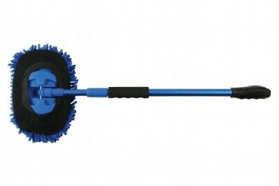 Laser Tools 7712 | Extendable / Detachable Microfibre Wash Mop 64-108cm