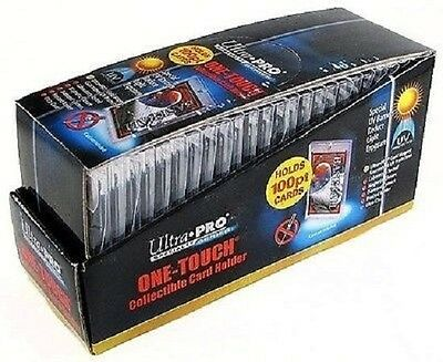 25 ULTRA PRO One Touch Magnetic Holders 100pt UV Gold Magnet New