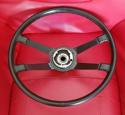 Porsche 911 914 Volant Cuir 40 Cm Lenkrad Sportlenkrad Steering Wheel Leather